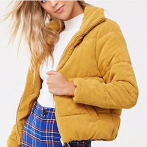 Jackets & Blazers - 🆕Corduroy Puffer Jacket